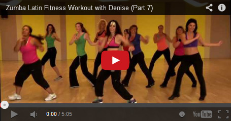 zumba workout by Denise Rivera